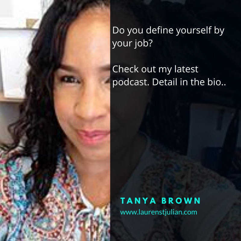 Are you defined by your job – Let's change that…